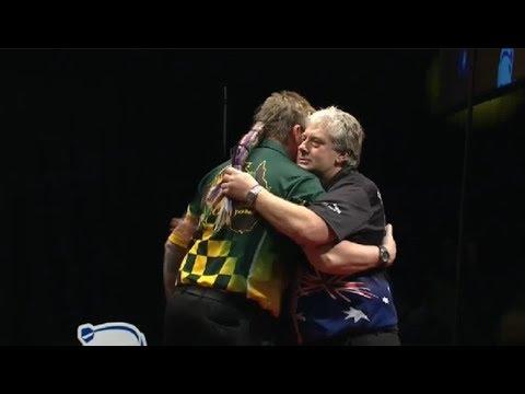 2017 Perth Darts Masters Round 1 Whitlock vs Thompson