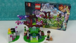 Lego Elves Farran And The Crystal Hollow 41076 Unboxing Toy Review