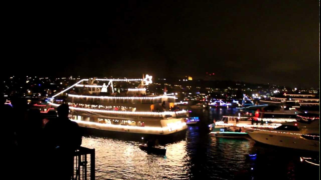 seattle christmas ships 2011 lake union