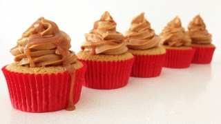 Caramel Cupcakes Recipe How To Cook That Salted Caramel Frosting Ann Reardon
