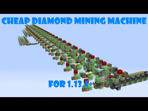 Cheap Diamond Mining Machine For 1.13.1+