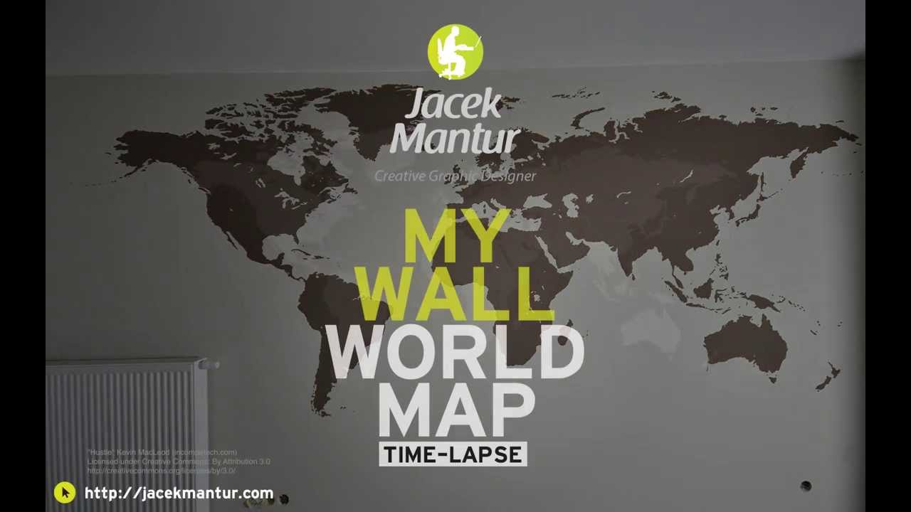 My wall world map wall painting tutorial malowanie na cianie my wall world map wall painting tutorial malowanie na cianie gumiabroncs