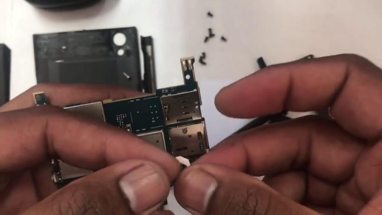 Sony Xperia L1 G3311 SIM struck in slot - смотреть онлайн на