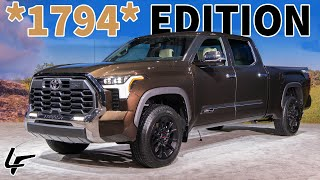 *HANDS ON*  2022 Toyota Tundra 1794 Is The ULTIMATE Cowboy Pickup