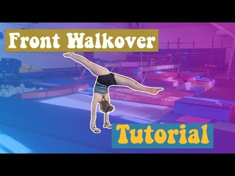 How To Do A Front Walkover!