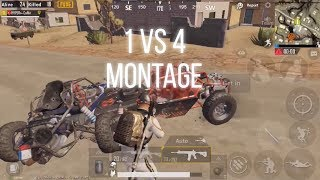 Solo vs Squad Montage#1 PUBG Mobile Coffin