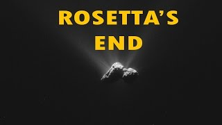ESA - ROSETTA: THE END IS IN SIGHT - Comet 67p