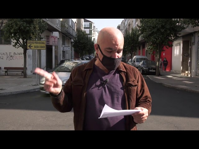 Reportajes Auria:  Mejora de las calles de Ourense 30/09/2020