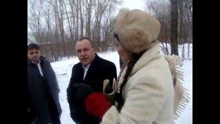Фрагмент разговора губернатора ПК Виктора Басаргина и главного раввина России с жителями