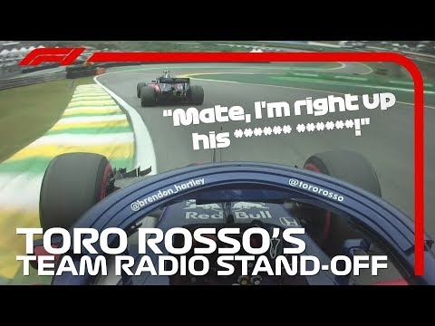 Toro Rosso's Team Radio Stand Off | 2018 Brazilian Grand Prix