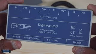 Review: RME Digiface USB Audio Interface with 4 ADAT/SPDIF I/O Ports