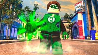 LEGO DC Super-Villains - Green Lantern - Open World Free Roam Gameplay (PC HD) [1080p60FPS]