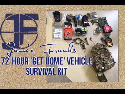 Jamie Franks - Get Home Bag - Vehicle Survival Kit