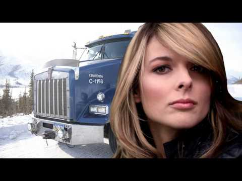 Lisa Kelly-Alex Debogorski-Ice Road Truckers-Bread-Truckin.