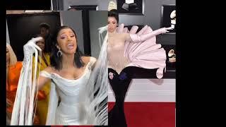 Cardi B celebrates Grammy Win! & REMY Ma Congratulates!!