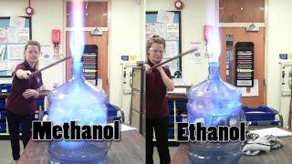 Whoosh Bottle - Methanol Vs Ethanol