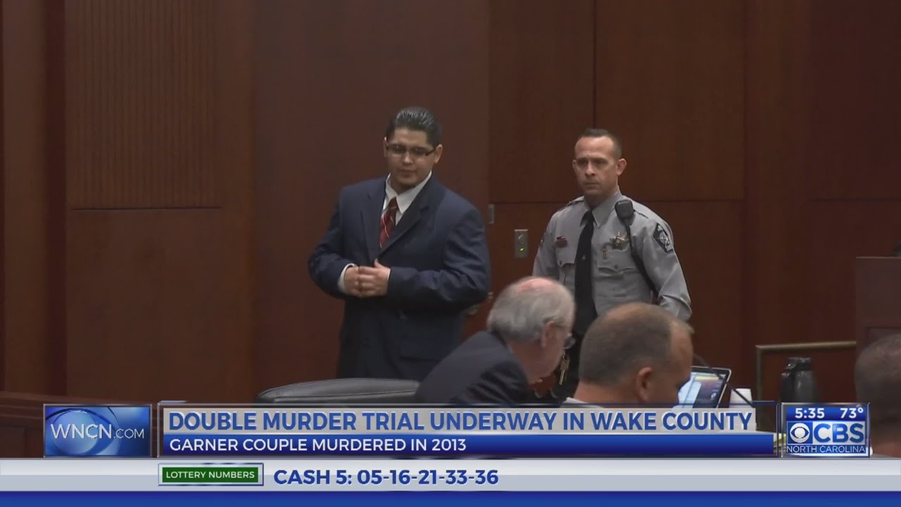 Double Murder Trial
