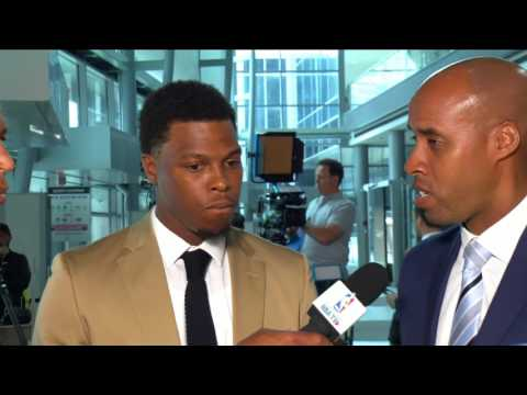 Kyle Lowry with NBA TV Canada - July 7, 2017
