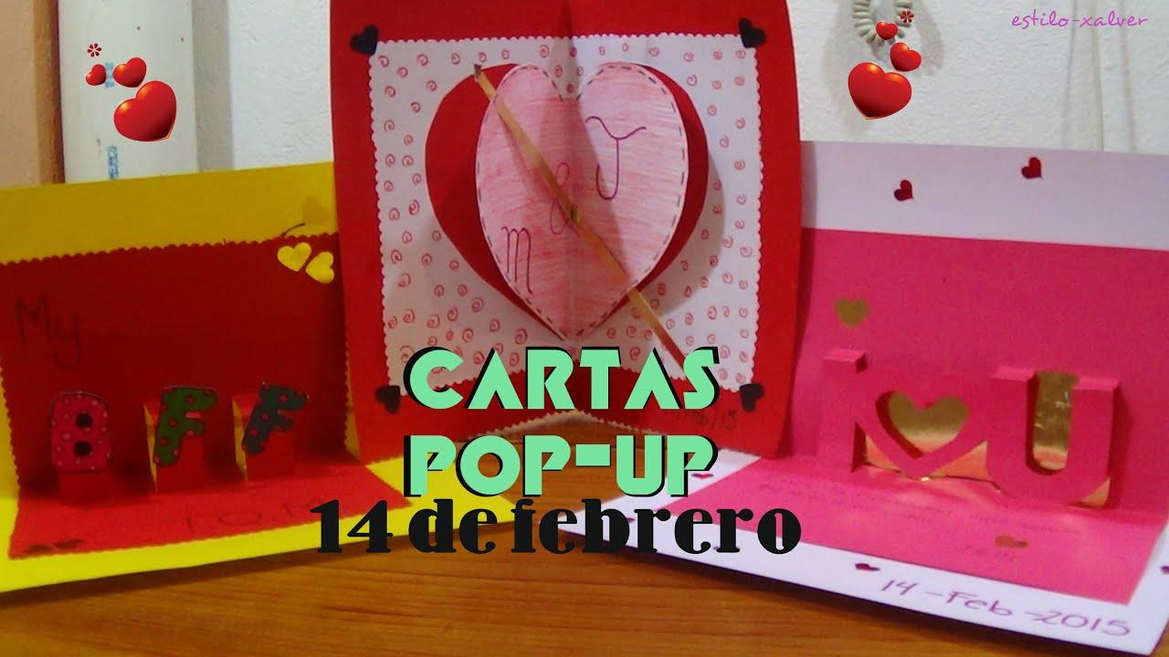 3 Formas De Hacer Cartas Pop Up 3d Para Este 14 De Febrero