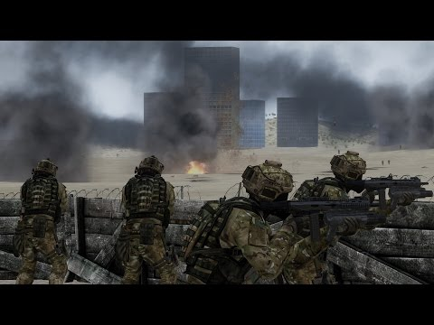 ArmA 3 - Zombie Trench Warfare
