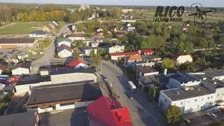 OKIEM DRONA - Wola Krzysztoporska oraz Wygoda z lasem