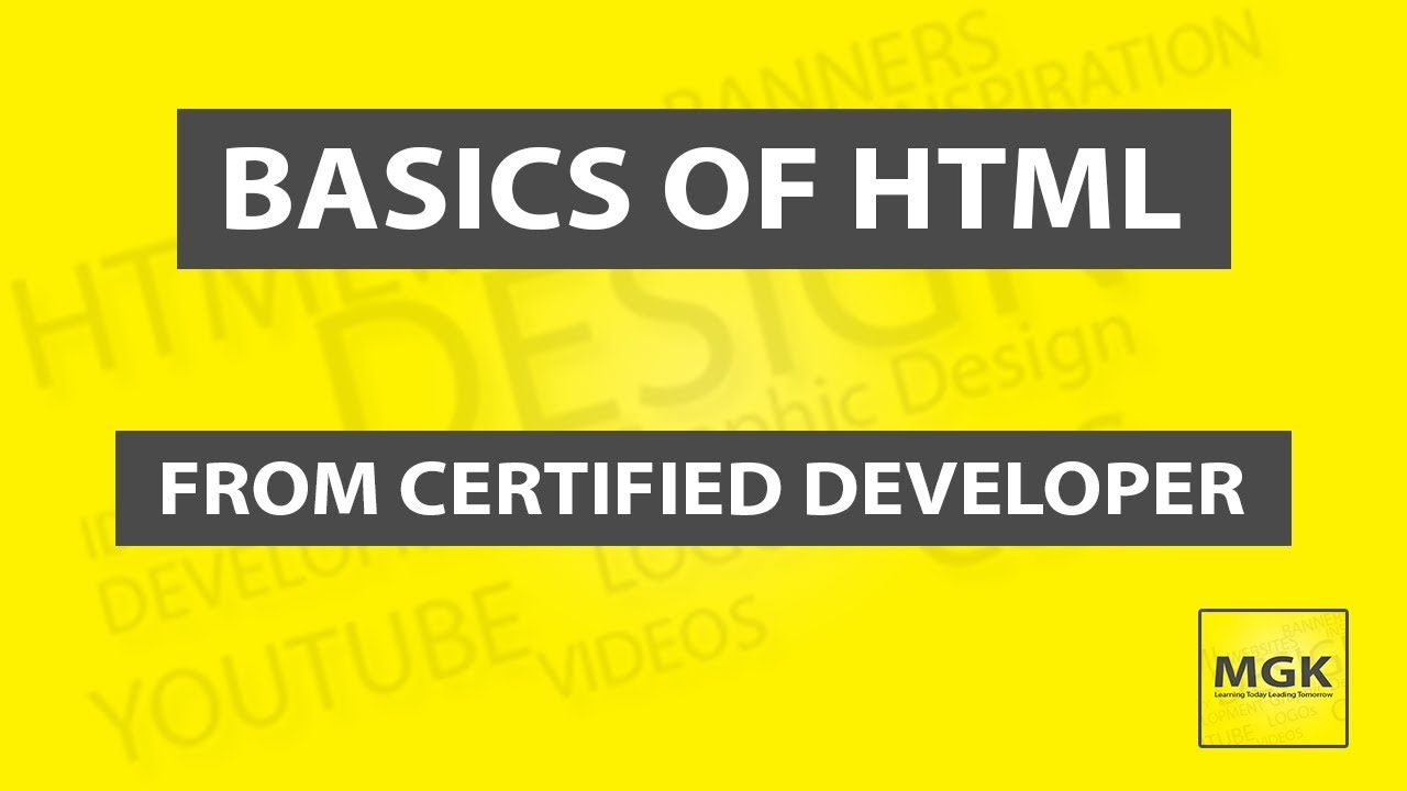 9. Video in HTML | HTML5 | 2019