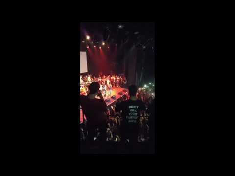 Lil Pump Drose in Los Angeles Performance, gets cut out by XXXTENTACION