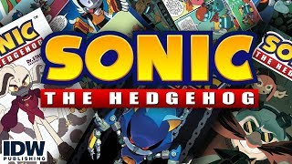 Итоги битвы за Остров Ангела Sonic the Hedgehog #12 IDW