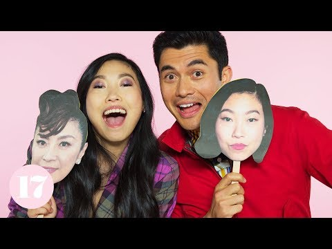 Henry Golding and Awkwafina from Crazy Rich Asians Play The Ultimate Superlative Challenge
