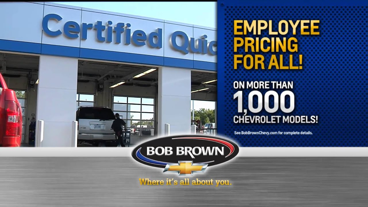 Bob Brown Chevrolet Is All About You Youtube