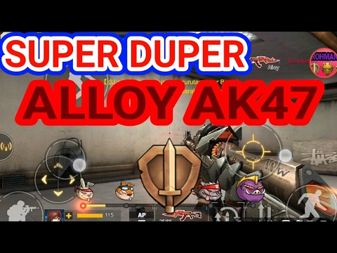 """Nyobain Super Duper Alloy Ak47"" -CRISIS ACTION INDONESIA"