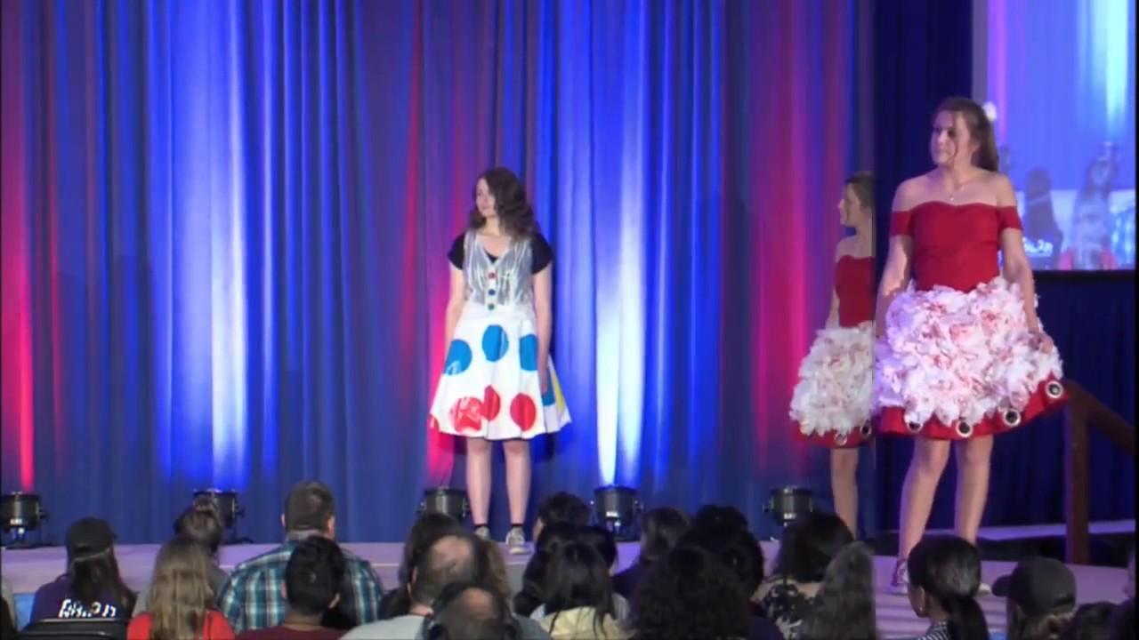 2017 Pa Tsa State Conference Fashion Design Finals Youtube