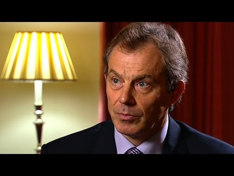 Tony Blair: Head on - UK, October 2002