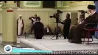 ايراني يقره ويرقص امام الخمنائي😀