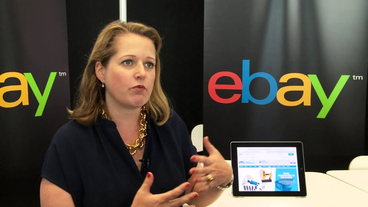 Ebay Canada S Andrea Stairs Talks About Data Social And Mobile Youtube