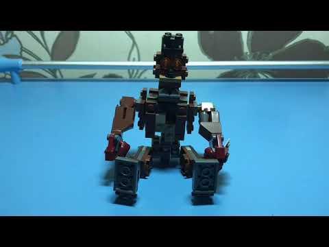 Как собрать кошмарного Фредди из LEGO (FNAF 4)