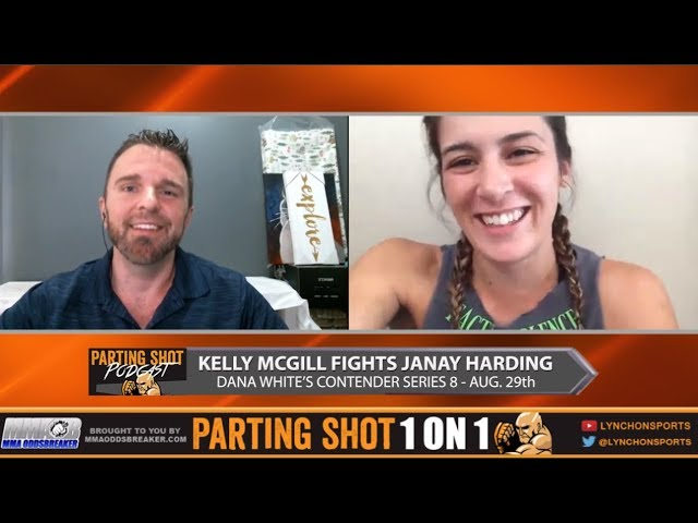 Physical Education Teacher Kelly McGill talks DWCS 8 fight August 29th