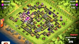 clash of clans ¨highest th9 cup count i have seen so far...¨