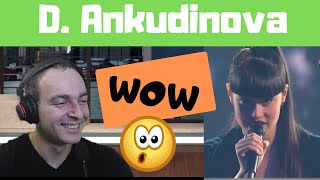 First Reaction to Diana Ankudinova Snowstorm   Диана Анкудинова Вьюга Первая реакция