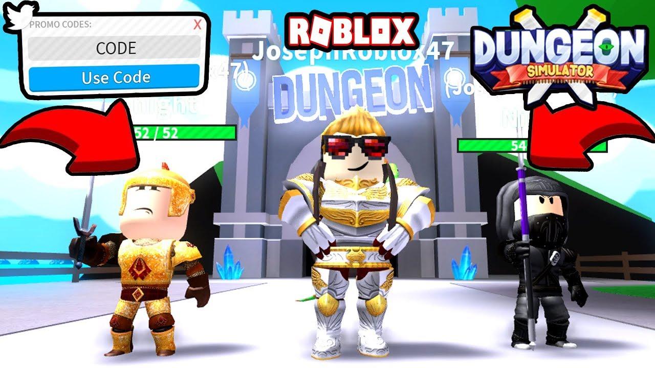 New Dungeon Simulator Code Dungeon Simulator Roblox Unlock