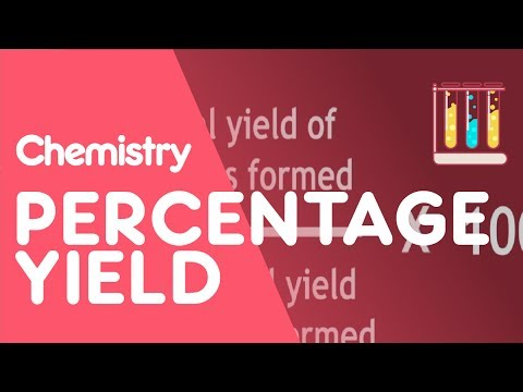 Percentage Yield | The Chemistry Journey | The Fuse School