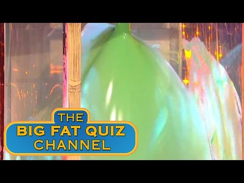 Jimmy Carr Goes in the Gunge Tank - The Big Fat Quiz of the '90s