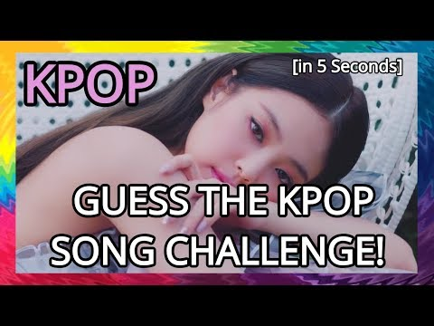 GUESS THE KPOP SONG IN 5 SECONDS! (EASY)