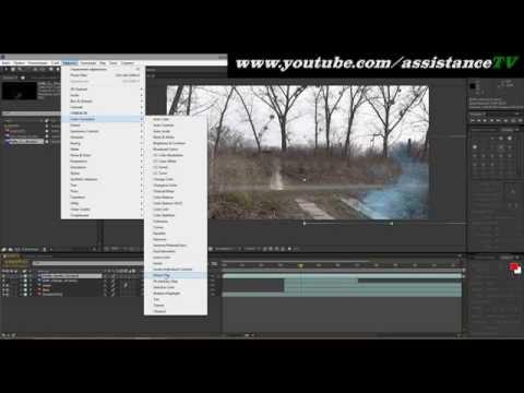 Как вставить футаж в видео - Adobe after effects