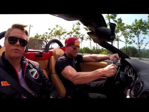 Ferrari & Lamborghini hos Sports Car Rental