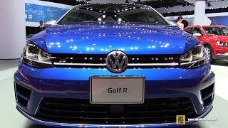 2016 Volkswagen Golf R - Exterior and Interior Walkaround - 2015 Tokyo Motor Show