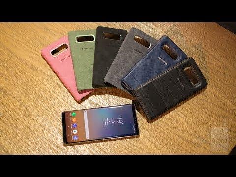 huge discount 1ca36 030c8 Official Samsung Galaxy Note 8 Alcantara Cases!!!