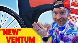 """New"" Ventum Bike for Triathlon Training"