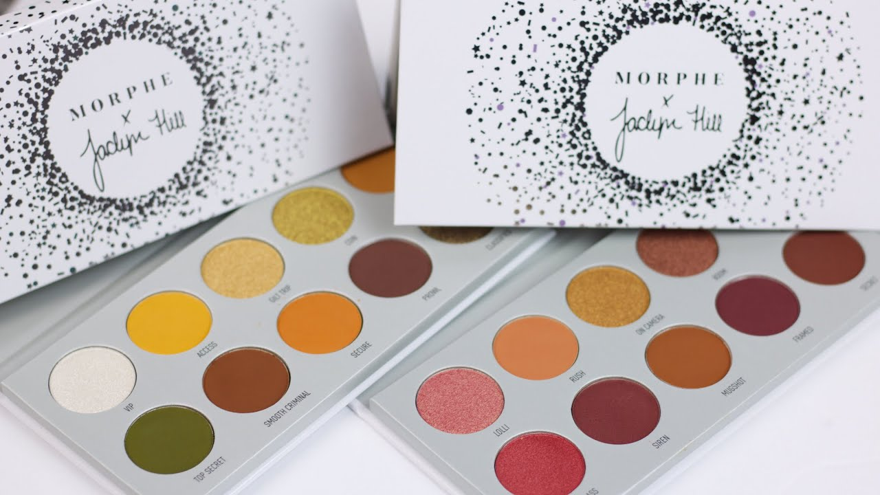MORPHE X JACLYN HILL THE VAULT COLLECTION REVIEW - YouTube
