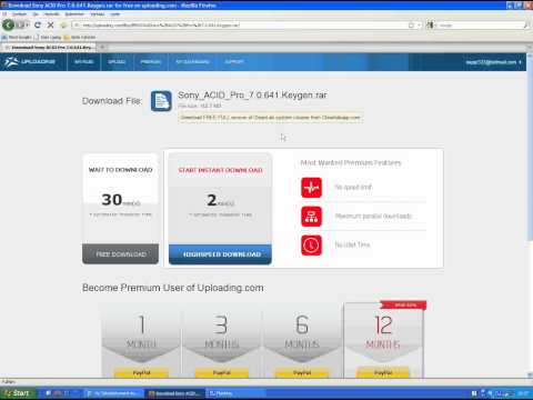 How to download Sony Acid Pro 7 full version work 100%